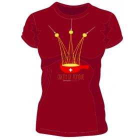T-shirt Femme Queen of Fondue