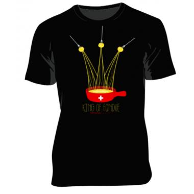 T-shirt Homme King of Fondue