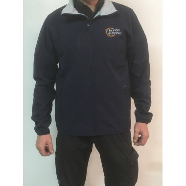 Softshell Homme Noire